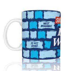 Blue Wall 2 Mug