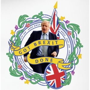 Limited Edition: Exclusive Got Brexit Done Print